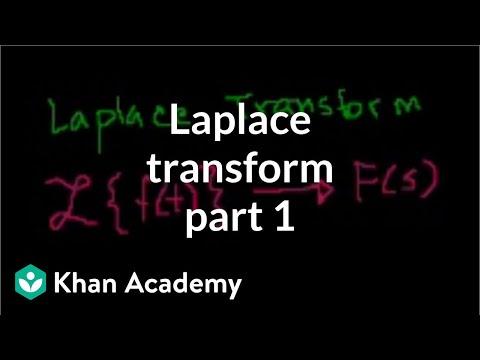 Laplace transform 1 | Laplace transform | Differential Equations | Khan Academy