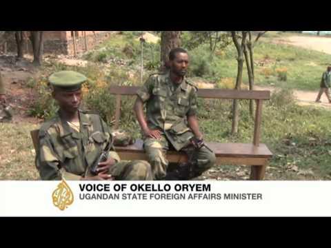 Okello Oryem, Uganda's state minister for foreign affairs, speaks to Al Jazeera