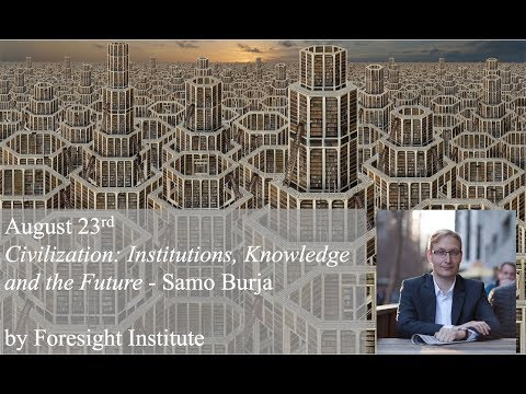 Civilization: Institutions, Knowledge and the Future - Samo Burja