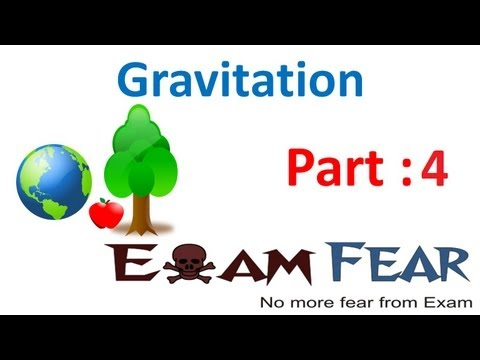 Physics Gravitation part 4 (Acceleration due to gravity) CBSE class 9 IX