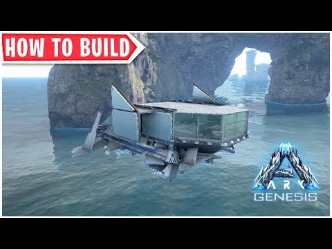 Ark: Genesis - How To Build A Hover Skiff Drop Ship