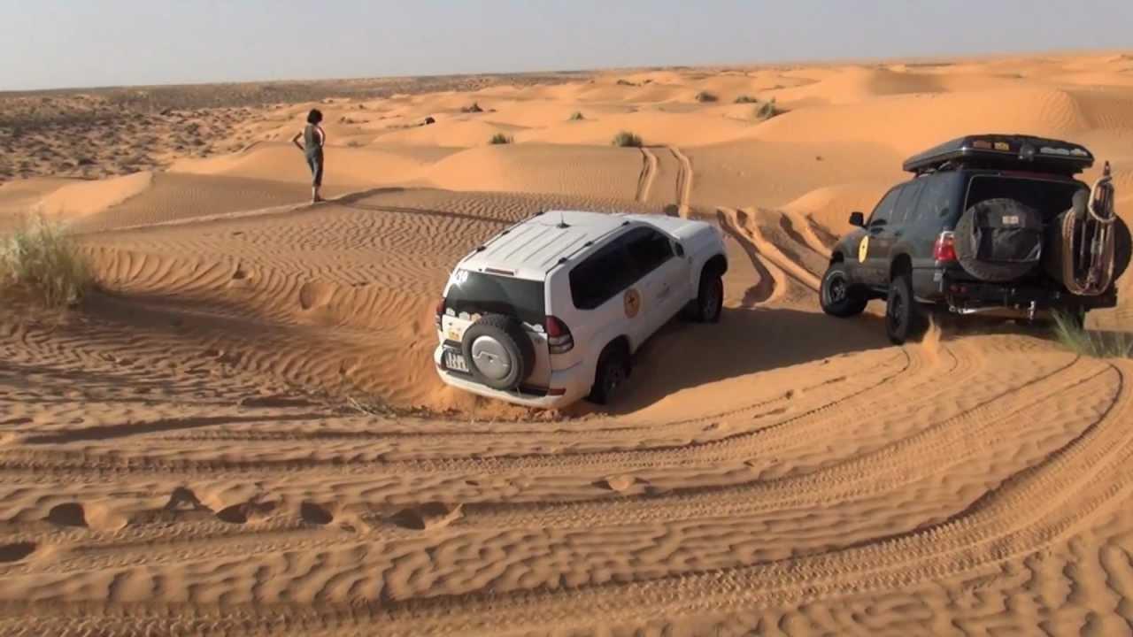 Toyota Of The Desert >> Toyota Hdj 100 Desert Mauritanie Tunisie 2012 Plantage Et Deplantage