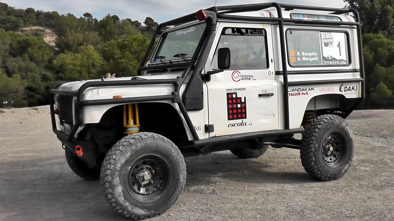 Land Rover Defender 2014 Off Road 4x4 Climb Amp Rotations