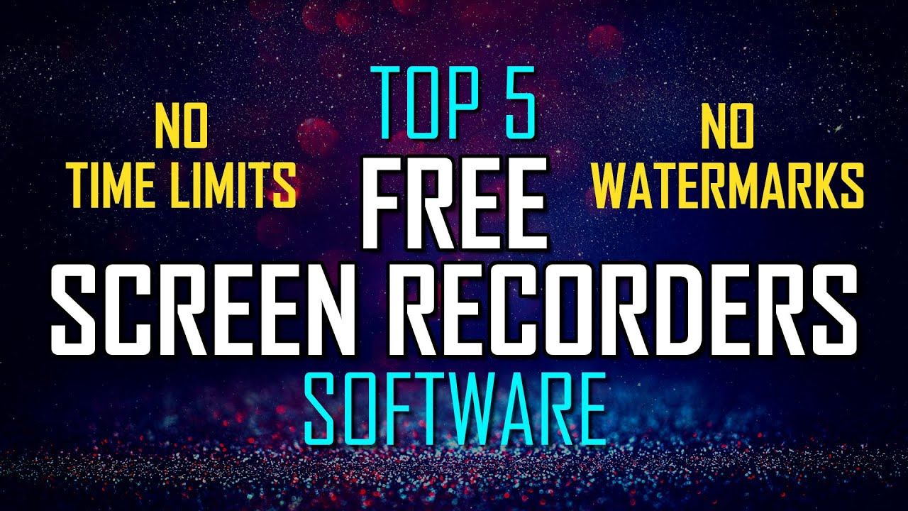 good free screen recording software for games