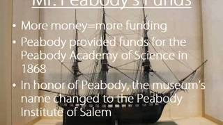 Peabody Essex Museum documentary