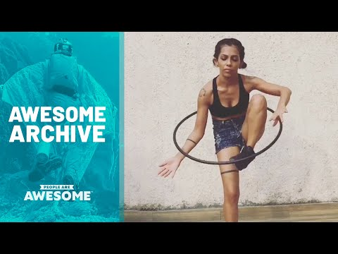 Extreme Hula Hoop Tricks & More | Awesome Archive