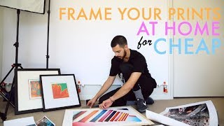 Video How to CHEAPLY setup, print and FRAME your pictures. download MP3, 3GP, MP4, WEBM, AVI, FLV Juli 2018