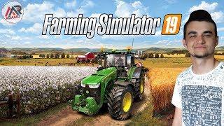 """Farming Simulator 19 - Amerykańska Mapa """"Ravenport""""  Pierwsze wrażenia!"""