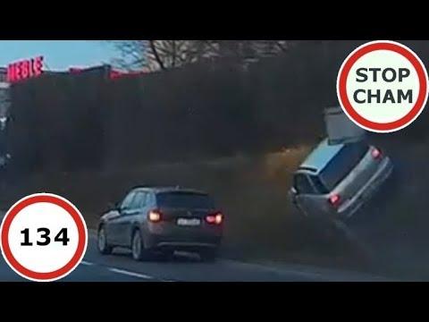 Stop Cham #134 – Niebezpieczne i chamskie sytuacje na drogach