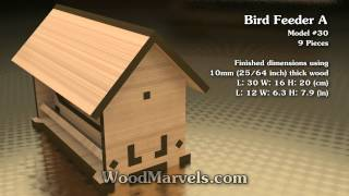 Bird Feeder A: 3d Assembly Animation (1080hd)