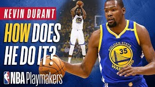 How to Shoot a Pull Up Like Kevin Durant | NBA Breakdown with ShotMechanics