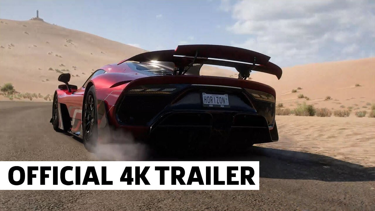 Forza Horizon 5 4K Official Announcement Trailer