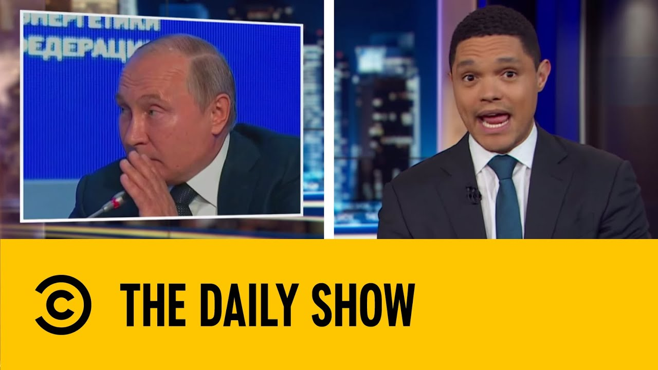 Putin Jokes About Influencing The 2020 Presidential Election | The Daily Show With Trevor Noah