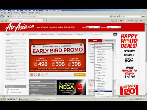 How to buy a flight ticket in airasia? here it is.