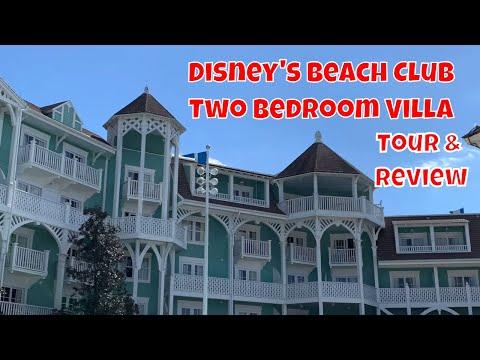 Disney's Beach Club Two Bedroom Villa Tour