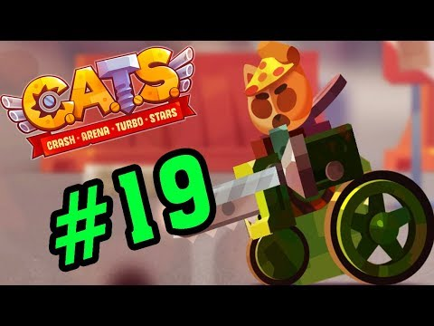 CATS: Crash Arena Turbo Stars #19 - Siêu Xe Với 5000 HP - Mèo Con Đại Chiến