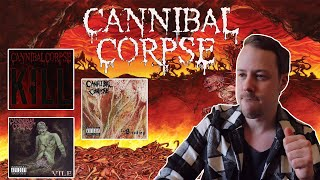 Cannibal Corpse Albums Ranked