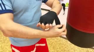 Как правильно бинтовать руки