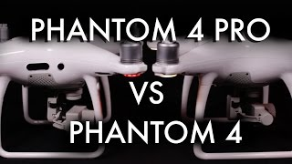 Phantom 4 Pro vs Phantom 4  Comparison