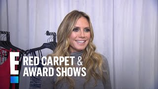 Heidi Klum Reveals Her Workout Routine | E! Live from the Red Carpet