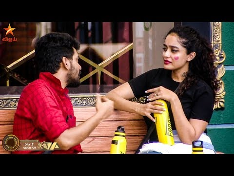 Bigg Boss 3 Day 2 - Abirami proposes Kavin - Full Episode 3 Highlights | Vijay TV Tamil