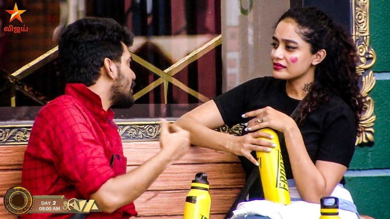 Bigg Boss 3 Day 2 - Abirami proposes Kavin - Full Episode 3 Highlights |  Vijay TV Tamil