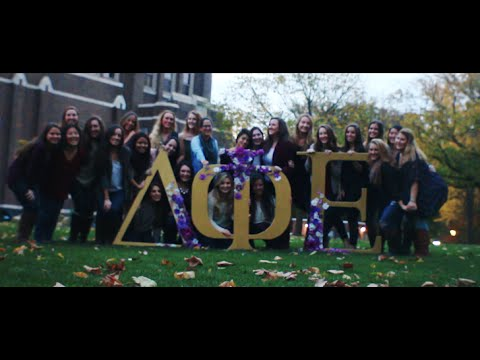 La Salle University - Delta Phi Epsilon Chapter -  Sorority Recruitment Video
