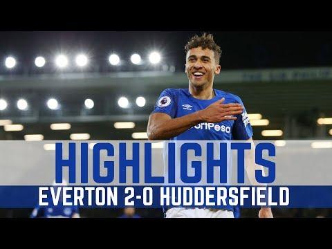 HIGHLIGHTS: EVERTON 2-0 HUDDERSFIELD TOWN