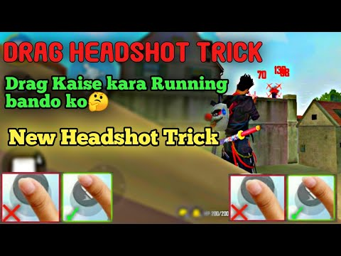 NEW AUTO HEADSHOT TRICK 100% WORKING & ALWAYS HEADSHOT | DRAG HEADSHOT TRICK