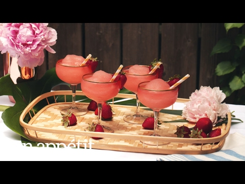 How to Make Frosé (Frozen Rosé) | Bon Appetit
