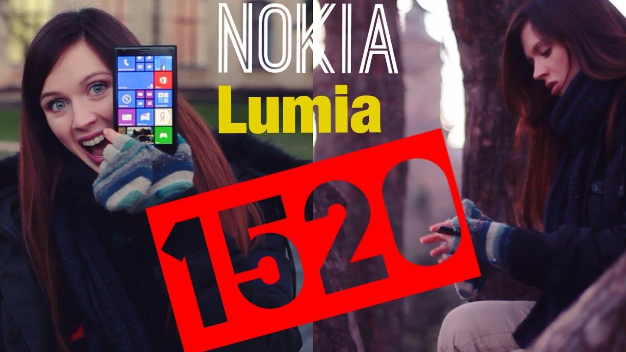 Обзор смартфона Nokia Lumia 1520