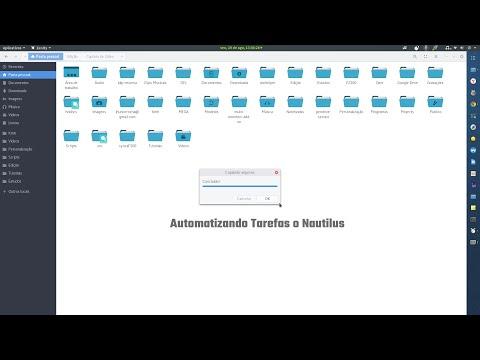 Automatizando Tarefas no Nautilus