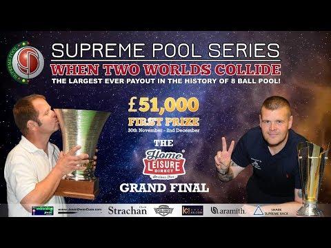 Seb Web vs Jez Graham - The Supreme Pool Series - Home Leisure Direct Grand Final - T3
