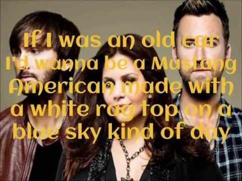 Lady Antebellum - Generation Away (Lyrics on Screen)
