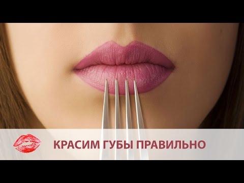 Как красить губы без помады ♥ Стойкие губы на весь день