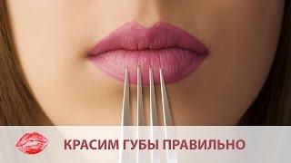 Как красить губы без помады ♥ Стойкие губы на весь день(Уроки макияжа от визажиста: Диана Купавцова - https://www.facebook.com/kupavtsova.d... Локация: Portobello Beauty Club - http://portobello.kiev.ua/..., 2016-03-25T15:24:25.000Z)