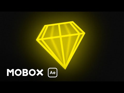 Faux 3D Spinning Diamond - After Effects Tutorial