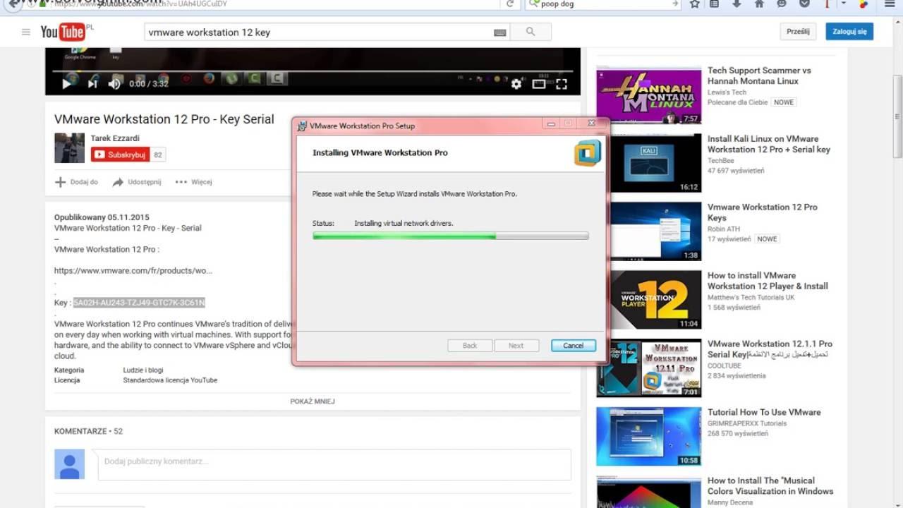 Keyboard Not Working Vmware Workstation : vmware workstation 12 pro key youtube ~ Hamham.info Haus und Dekorationen