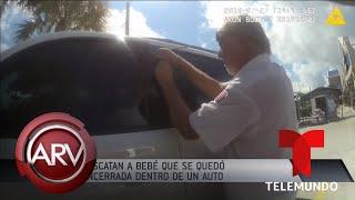 Madre deja a su bebé dentro del auto y entra en pánico por perder llaves | Al Rojo Vivo | Telemundo