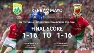 Official GAA Stats - Mayo vs Kerry