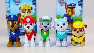 Щенячий патруль Игрушки Сюрпризы Свит Бокс Видео для детей Paw Patrol Surprise toys unboxing