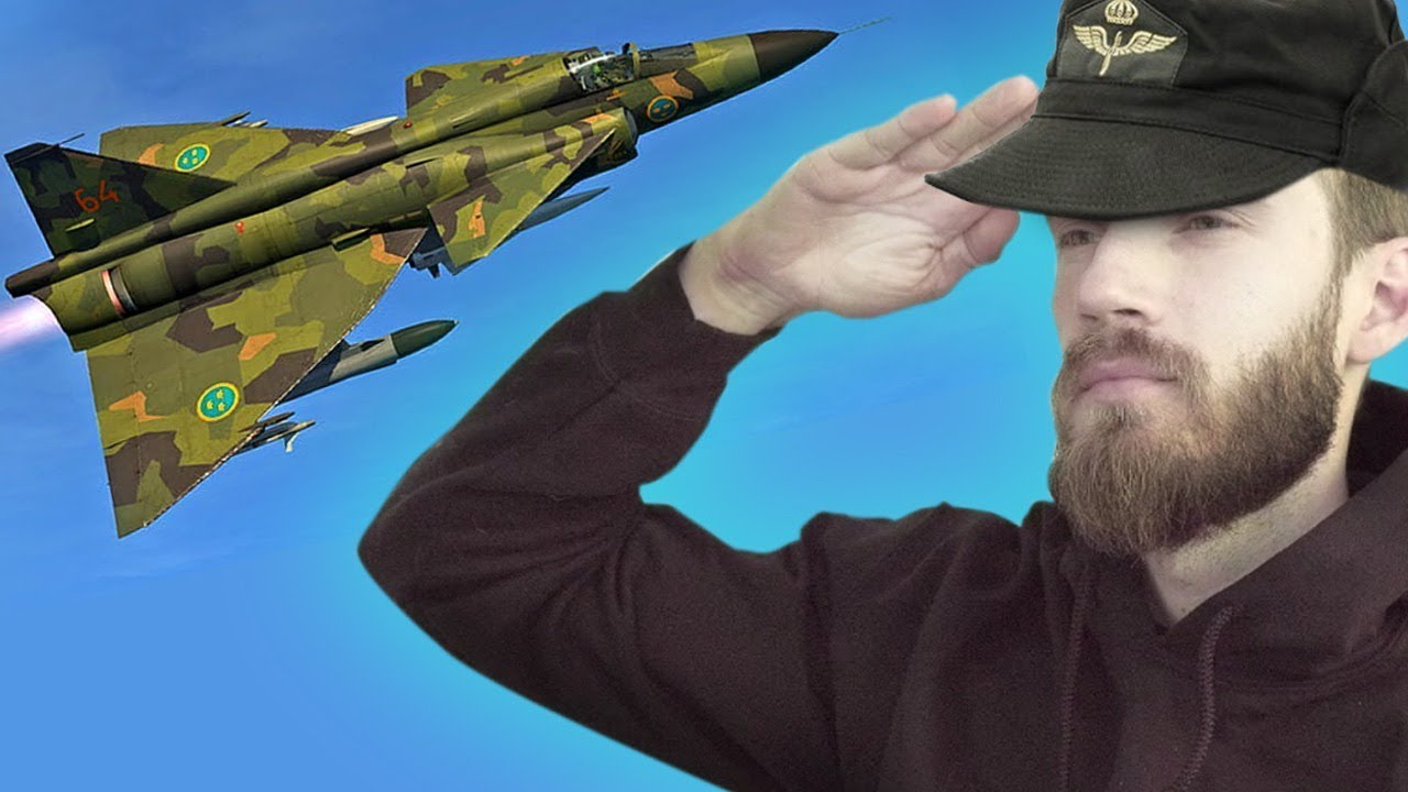 I Joined The Swedish AirForce