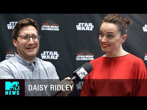 Daisy Ridley on Rey's Role in 'Star Wars: The Last Jedi' | MTV News