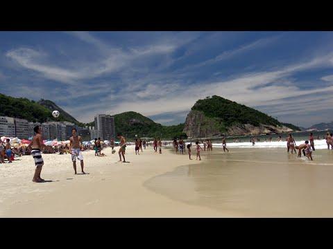 Copacabana - Rio de Janeiro - Brazil (4K)
