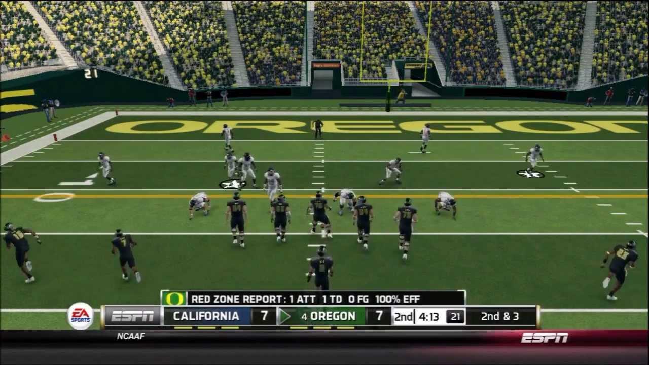 NCAA Football 14: Dynasty: Week 4: Oregon Ducks. Vs California Golden Bears