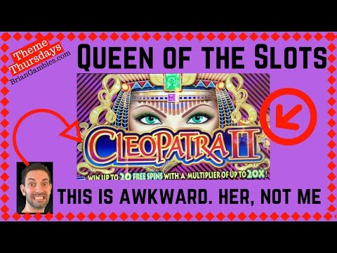 CLEOPATRA at 3 Different Casinos! ✦LIVE PLAY w/BONUS✦ Slot Machine Pokie in Vegas and SoCal from YouTube · High Definition · Duration:  10 minutes 20 seconds  · 20 000+ views · uploaded on 02/10/2016 · uploaded by Brian Christopher