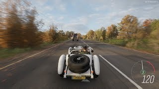 Forza Horizon 4 - 1929 Mercedes-Benz Super Sport Kurz Barker Roadster Gameplay [4K]