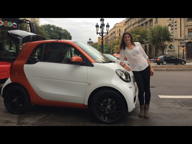 Cyndie Allemann testet den neuen Smart fortwo - GRIP - Folge 304 - RTL2