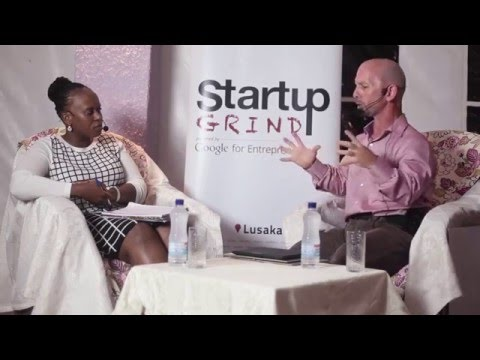 Shaun Michael Cunningham (City Health and Fitness Centre) Startup Grind Lusaka