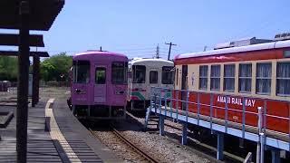 甘木鉄道 AR306到着